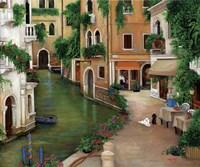 Best Friends In Venice Fine Art Print