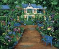 French Garden Fine Art Print