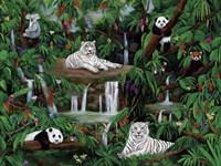 Friends In The Rainforest Fine Art Print
