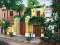 Hacienda Parrots Fine Art Print