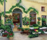 Little Flower Shop Fine Art Print