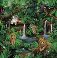 Paradise Jungle Fine Art Print