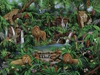 Peaceful Jungle Fine Art Print