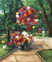 The Balloon Man Fine Art Print