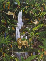 Tropical Rainforest Fine Art Print