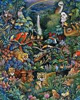 Rainbow Rainforest Fine Art Print