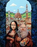 Italian Gothic Fine Art Print