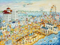 Ocean City Summer Fine Art Print