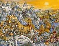 China Wall Fine Art Print