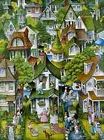 Suburban Fine Art Print