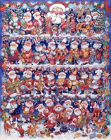Will The Real Santa 2 Fine Art Print