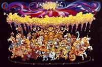 Velvet Carousel Fine Art Print