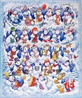 Snowfolks Fine Art Print