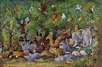Noah And Friends (Part 2) Fine Art Print