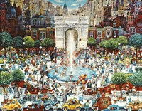 Washington Square Fine Art Print