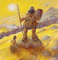 David & Goliath Fine Art Print