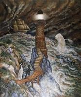 Ahab's Light Fine Art Print