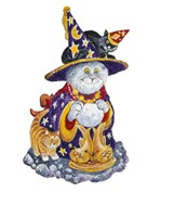 Witch Cat Fine Art Print