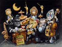 The New Nairobi Jazz Band Fine Art Print
