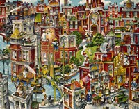 Cat City Fine Art Print