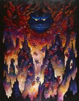 Horny Little Devils Fine Art Print