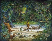 Noah And The Swamp Things Fine Art Print