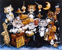 Jazz Sophisticats Fine Art Print