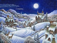 Winter Moon Fine Art Print