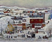 Amish Winter Fine Art Print