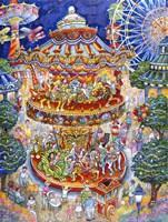 Carousel Dreams Fine Art Print