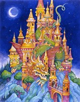The Dragons Castle Fine Art Print