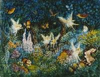 Forest Fairies Fine Art Print