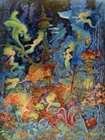 Mermaids Of Atlantis Fine Art Print