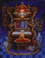 Classical Cats Fine Art Print