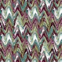 Wavy Stripe Aubergine Fine Art Print