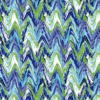 Wavy Stripe Marina Fine Art Print
