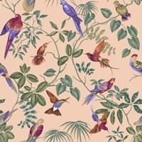 Aviary Final Blush Fine Art Print