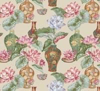 Chinese Vases Butternut Fine Art Print