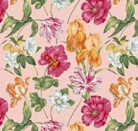 Floral Waltz Blush Fine Art Print