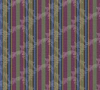 Scroll Stripe Plum Fine Art Print