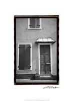 French Quarter Architecture III Fine Art Print