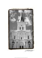 St. Louis Cathedral, Jackson Square I Fine Art Print