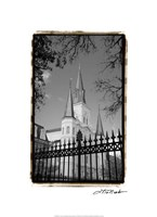 St. Louis Cathedral, Jackson Square II Fine Art Print
