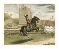 English Horseman I Fine Art Print