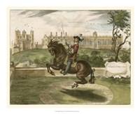 English Horseman II Fine Art Print