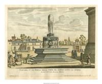 Italian Fountain III Fine Art Print