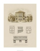 Estate and Plan I Fine Art Print