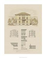 Estate and Plan II Fine Art Print
