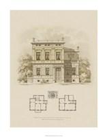 Estate and Plan III Fine Art Print