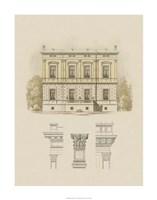 Estate and Plan IV Fine Art Print
